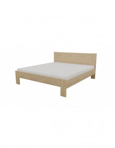 posteľ z masívneho buka