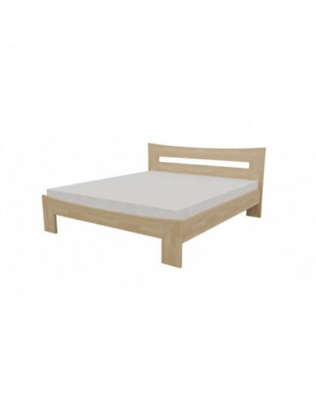 postel z bukového dreva