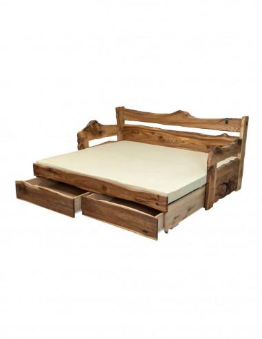 vysuvacia postel z brestoveho dreva